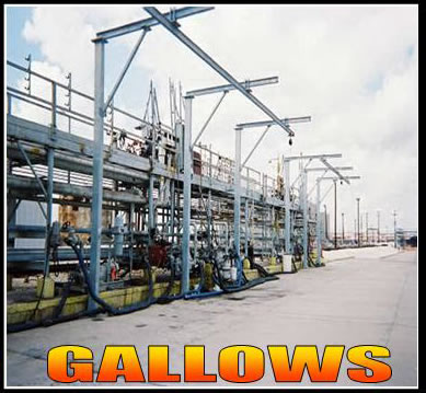 Gallows Fall Protection Tanker Truck